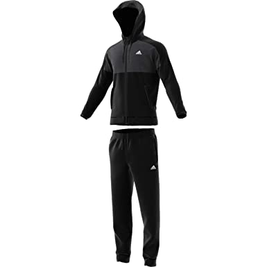 Amazon.com  adidas Men Track Suit Running Hoodie MTS Gametime Training Work  Out Gym (4 - UK 36 38 - Small)  Clothing 522ebaba11