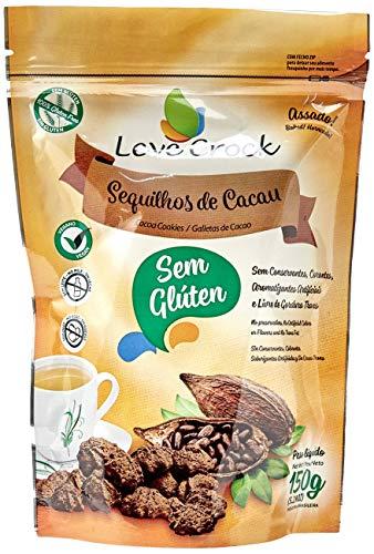 Biscoito Sequilhos de Cacau Leve Crock 150g