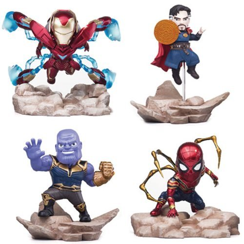Marvel Infinity War Mini Egg Attack MEA-003 Mini-Statue 4-Pa
