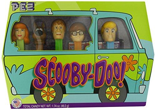 PEZ Scooby Doo Gift Set -  NET.WT 1.74 oz ( 49.3g )