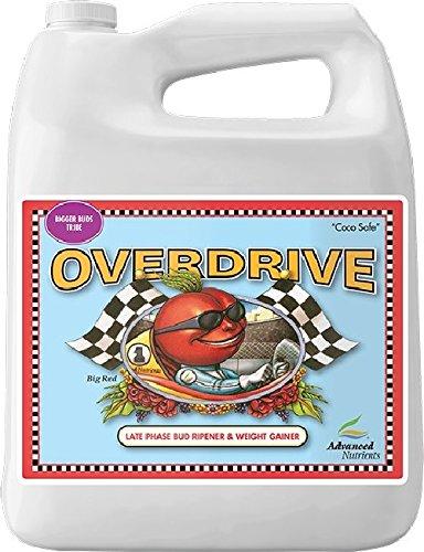 Advanced Nutrients GL523750-15 Overdrive Fertilizer 4 Liter, Brown/A