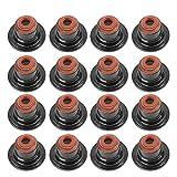 Duokon Valve Stem Seal,11340029751 16Pcs Valve Stem Seal Kit for X5 X6 545i 550i 650i 745i 750i