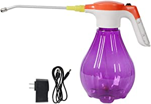 YXQ 3L Sprayer Pump Electric Garden Handheld Spray Bottle Water Mister, Automatic Battery Powered with Adjustable Nozzle for Plants & Home Cleaning