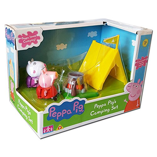 Camping Toys Product : Peppa pig camping set with figures buy online in uae