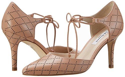 Zapatos Tacón De Bennett k Beige Fauna Mujer Para black trench L qtHw7xpWnq