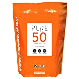 Bodybuilding Warehouse Pure Hemp Protein 50 Powder Unflavoured 2 kg by Bodybuilding Warehouse