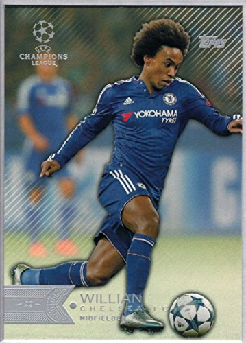 Soccer Pro 2015 Topps UEFA Champions League #160 Willian NM-MT