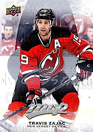 (CI) Travis Zajac Hockey Card 2016-17 Upper Deck MVP Silver Script 86 6622395859f