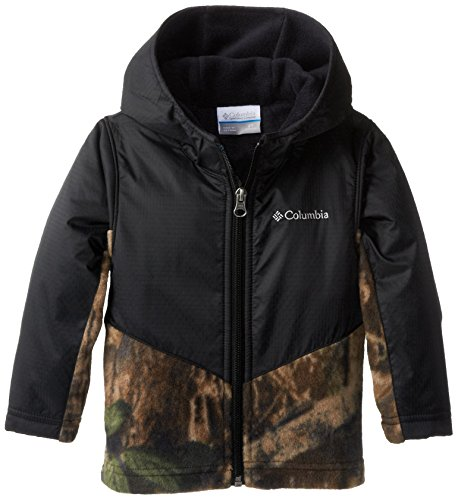 - Columbia Toddler Boys' Steens Mt Overlay Hoodie, Timberwolf, 4T