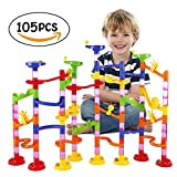 Kyпить BATTOP Marble Run Railway Toy Marble Run Coaster Railway Construction Child Building Blocks DIY Game for Over 4 Years Old Kids на Amazon.com