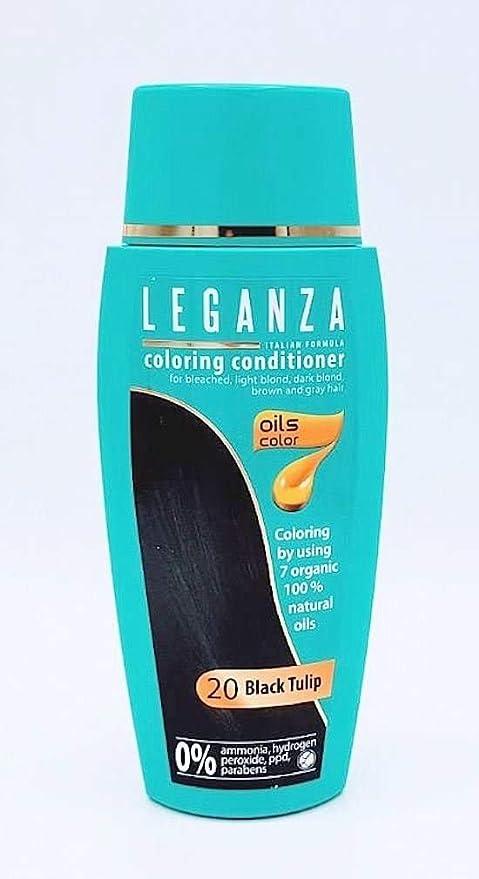Pack Ahorro de 2 x Tintes Bálsamo para cabello sin ammoniaque color tulipano negro 20, 7 aceites naturales