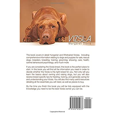 Vizsla-The-Complete-Owners-Guide-Hungarian-Vizsla-dogs-puppies-for-sale-rescue-breeders-breeding-training-showing-care-health-behavioural-psychology-also-Wirehaired-Vizsla-information-Paperback–Novem