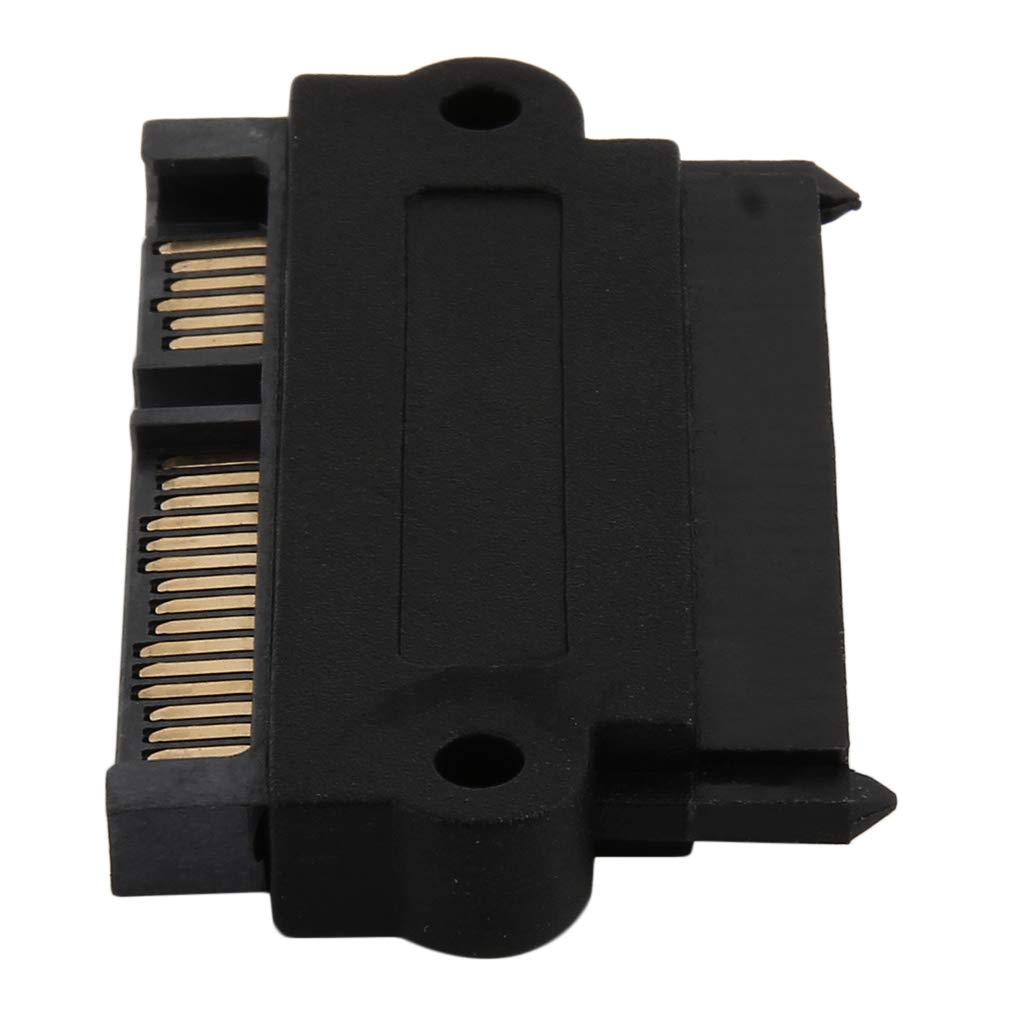 Professional SFF-8482 SAS to SATA 180 Degree Angle Adapter Converter Straight Head Your Device
