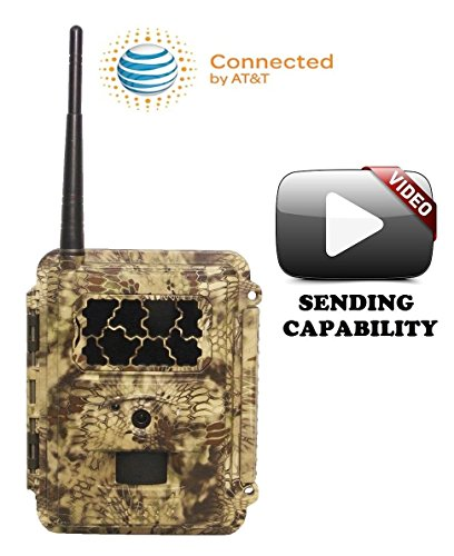 Spartan New HCO GoCam AT&T IR Cellular Texting Game Camera,
