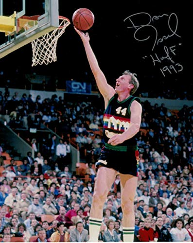 Dan Issel Autographed Signed Denver Nuggets 8x10 Photo Rainbow - Certified Authentic ()