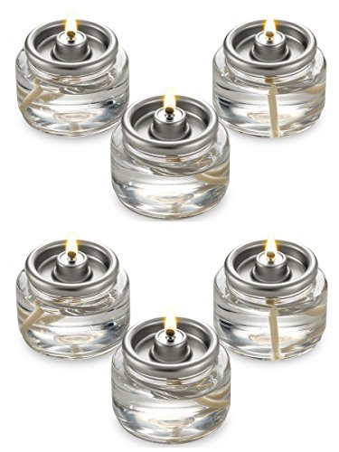 (Fuel Cell Tealights Liquid Oil Candles Paraffin 8 Hour Burn - in a Box - 90Pack - Disposable)