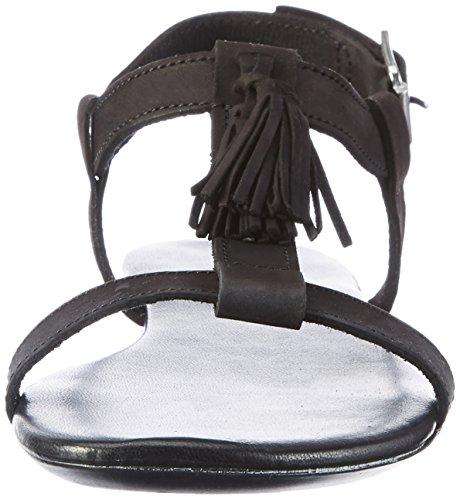 Bianco T-bar Sandal Jfm17 - Sandalias Mujer negro