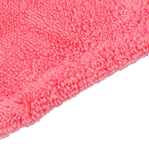 Pink Pink Towel Shape Hand uxcell Soft Hanging Dress Washcloth Kitchen Shocking Gallus Wall Shocking qww8OPxX
