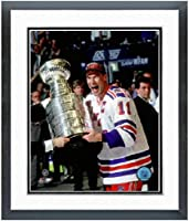 "Mark Messier New York Rangers 1994 Stanley Cup Photo (Size: 12.5"" x 15.5"") Framed"