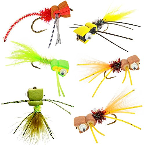 fly rod poppers - 1