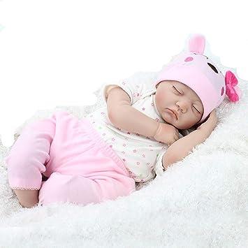 Amazon.es: ZIYIUI Bebe Reborn niño Reborn Baby Dolls 55cm 22 ...