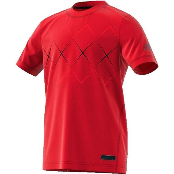 ADIDAS T SHIRT GR. 170 176 clima cool Shirt Kurzarm schwarz