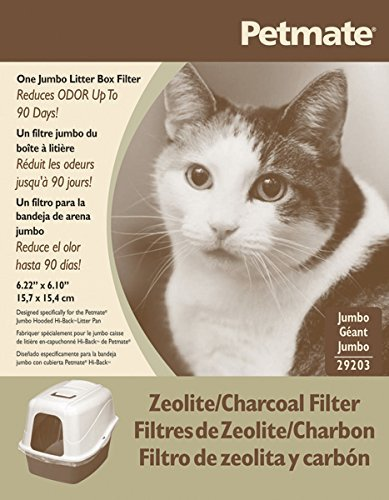 Dosckocil (Petmate) CDS29203 Basic Cat Litter Box Zeolite Filter, Jumbo by Petmate