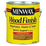 Minwax 710750000 Wood Finish - Penetrates, Stains & Seals, 250 VOC, gallon, Colonial Maple
