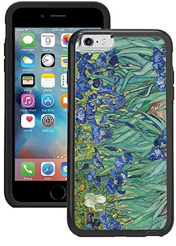 - iPhone 6S Case, iPhone 6 Case - Vincent Van Gogh Irisis Clear transparent designer hybrid case cover with drop protection - Unique Cool Cute Trendy Case by OptiCase