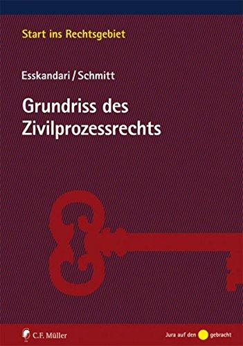 Grundriss des Zivilprozessrechts (Start ins Rechtsgebiet)