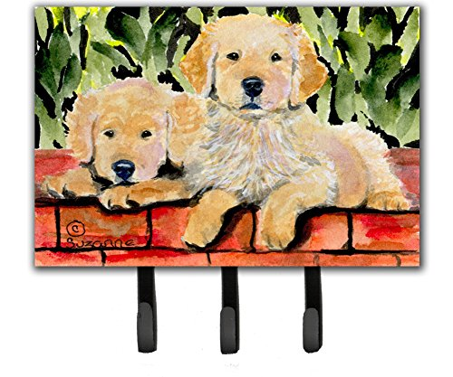 Caroline's Treasures SS8908TH68 Golden Retriever Leash Holder or Key Hook, Large, ()