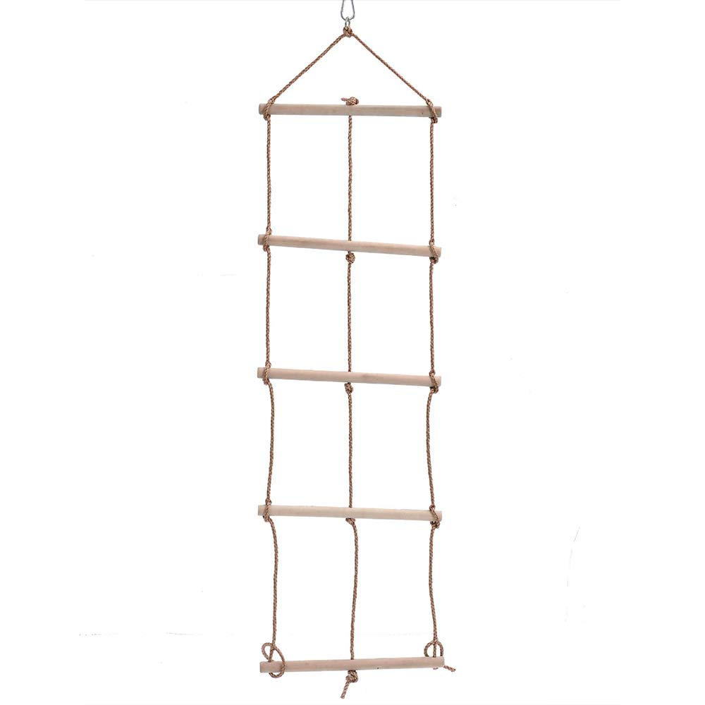Children's Climbing Ladder/Swing/Play Outdoor Fitness Toys Climbing net / 5 Files 3 Rope Ladder