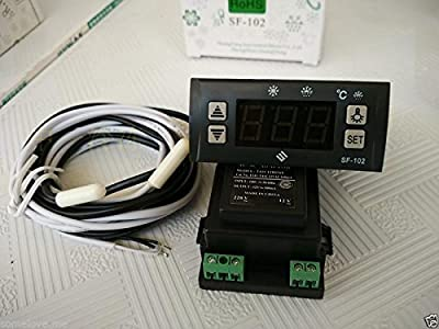 SF-102 Electronic Temperature Controller Digital Display Freezer Thermostat 110V