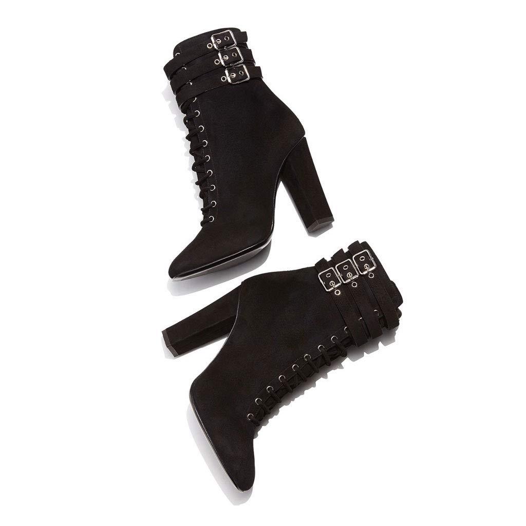 Frauen High Heel Stiefel Dick Mit Mit Mit Der Röhre Verdickung Mode Stiefel Warme Nackte Stiefel Wasserdicht Plattform Slip 81d0e4