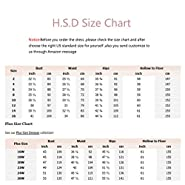 H.S.D Women's Mother of the Bride Dress Long Formal Prom Maxi Gown