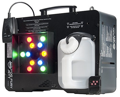 Fog Pro Machine (ADJ Products FOG FURY JETT JETT STREAM COLR, 12X3W RGB)