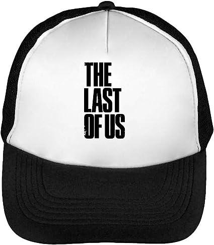 The Last of Us Logo Gorras Hombre Snapback Beisbol Negro Blanco One Size: Amazon.es: Ropa y accesorios