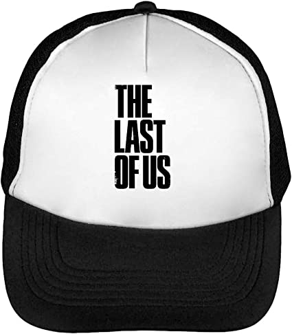 The Last of Us Logo Gorras Hombre Snapback Beisbol Negro Blanco ...