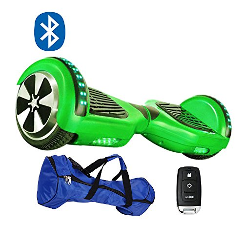 Gooplayer S36B-UL2272 Certified Hoverboard-6.5 Inch Electric 2 Wheel LED Self-Balancing Scooter with Bluetooth - Snowboard To Turn A How