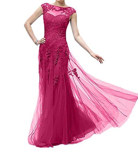 Spitze Standsamt Pink Ballkleider Etuikleider Damen Charmant Brautmutterkleider Langes Neu Abendkleider Kleider qgAEHg7c