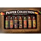 Dat'l Do It Pepper Collection-7 Bottles Assorted Hot Sauces Gift Set
