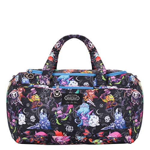 JuJuBe Starlet Large Overnight Duffle Bag, World of Warcraft Collection - Cute But Deadly