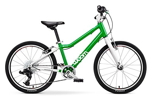 """woom 4 Pedal Bike 20"""", 8-Speed, Ages 6 to 8 Years, Green by WOOM BIKES USA (Image #1)"""