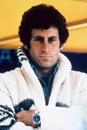 Paul Michael Glaser wearing the iconic cardigan