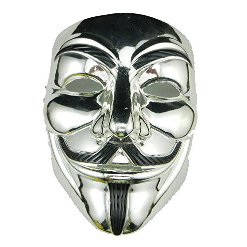 [Hot Sale V For Vendetta Anonymous Movie Guy Fawkes Vendetta Mask Hip-hop Dancing man mask] (Guy Dance Costumes)