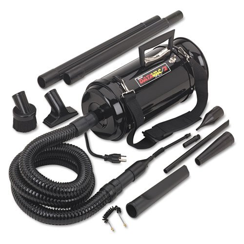 DATA-VAC Pro 2 Professional Cleaning System with Carrying Case, Black (Case of 2) by Data-Vac
