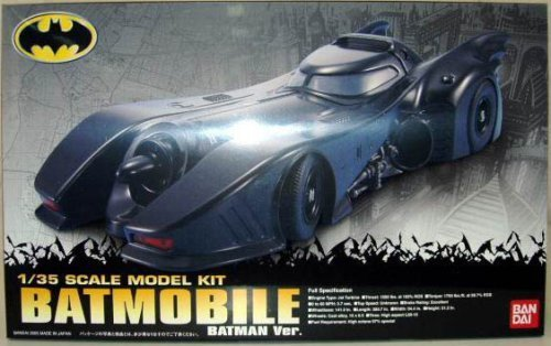 Batmobile 1989 Movie Version Model Kit