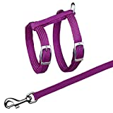 Trixie Cat Harness With Leash (8.66-16.53 inch/0.39 inch) (Multicolored)