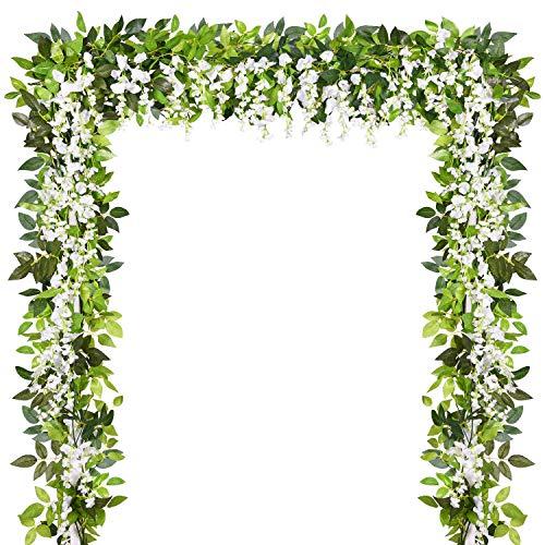Wedding Arch Garland - Sunm boutique Artificial Flowers Wisteria Garland