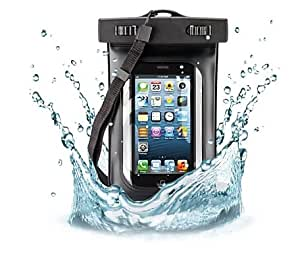 10M Deep Diving Waterproof Pouch for iPhone 5S 5 4S 4 (Assorted Colors) --- Color:Ivory
